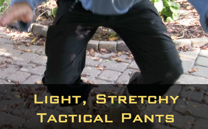Stretchy and Light: Stryke Pants from 5.11 Tactical