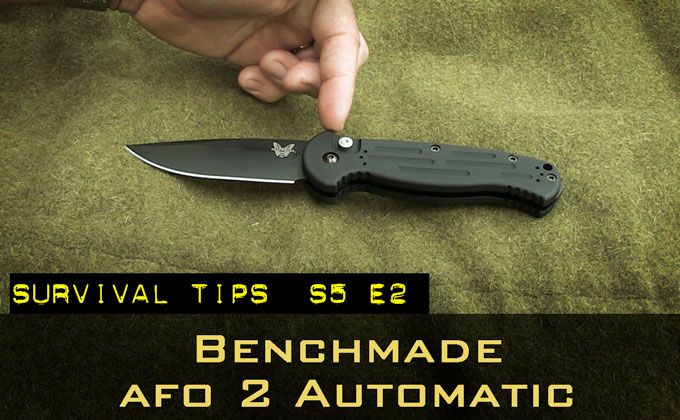 Benchmade AFO 2 Automatic