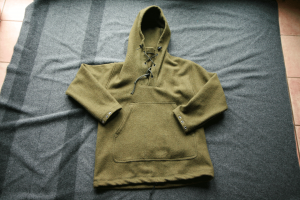Boreal Shirt from Lester River Bushcraft. Made from 100% wool US military blankets.