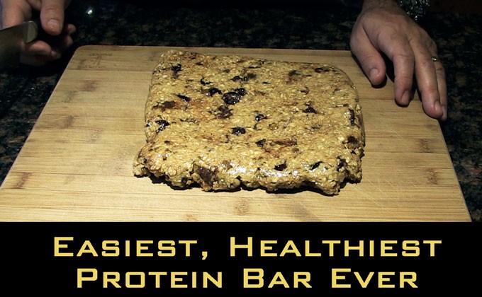 Easiest, Healthiest Protein/Energy Bar Ever