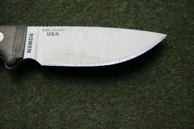 ESEE blade detail