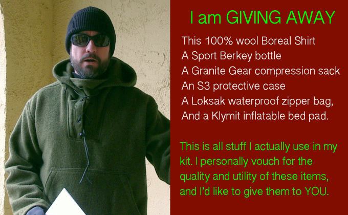 Huge SNO Prepper Gear Giveaway