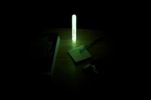 Tooblite 6 inch lighting the nightstand