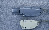 ESEE 5 and 3 sheaths, front