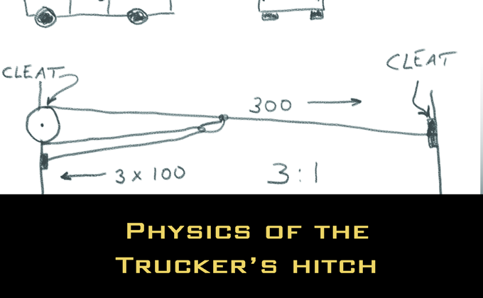 Physics of the Trucker's Hitch