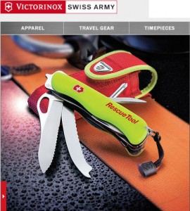 The Victorinox Swiss Army Rescue Tool