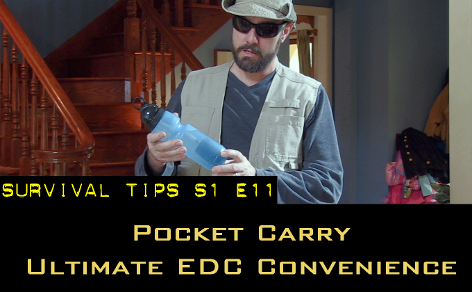 Pocket EDC — The Ultimate in Everyday Carry Convenience