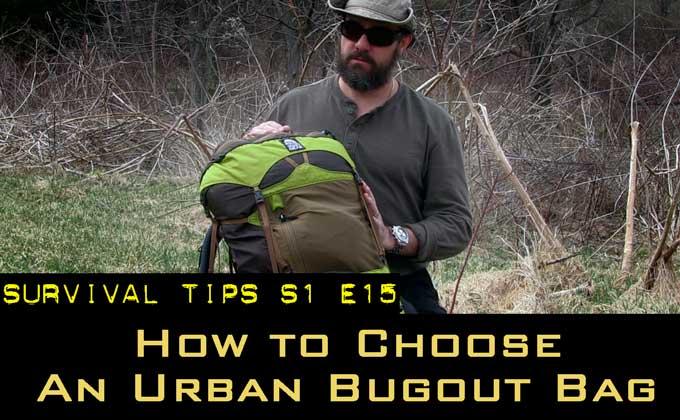 How to Choose an Urban Bugout Bag