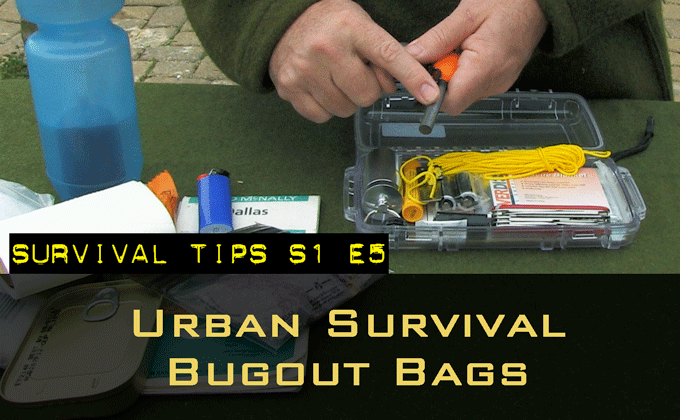 Urban Survival Bug Out Bags