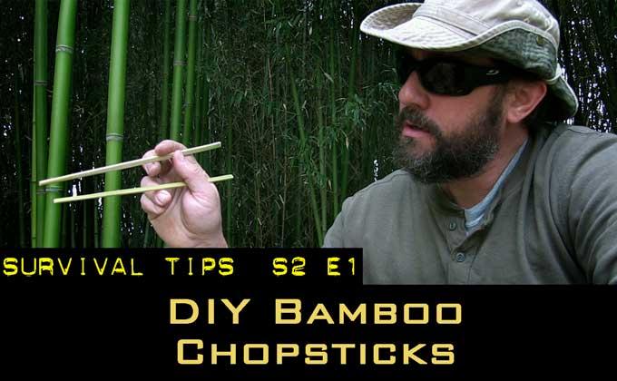 Bamboo Basics for Preppers – Making Chopsticks