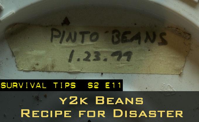 Y2K Beans Taste Test: Recipe for Disaster