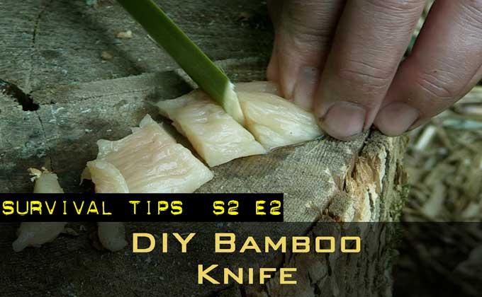 DIY Bamboo Knife