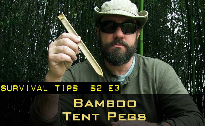 Bamboo Tools Part 3 — Tent Pegs