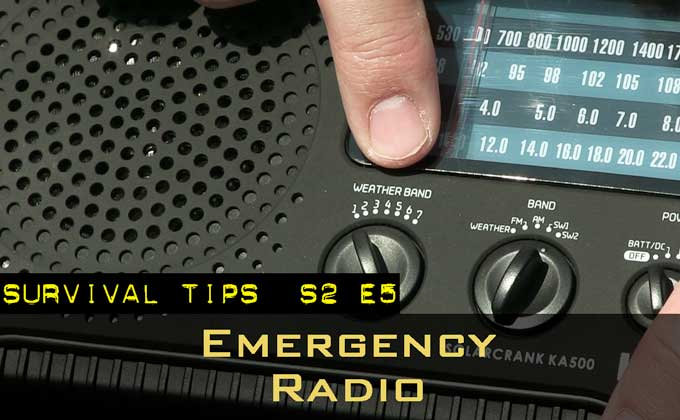 An Emergency Radio With Multiple Power Sources