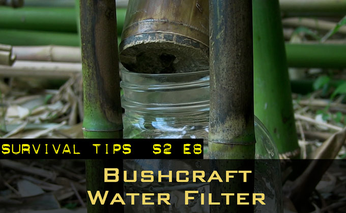Simple Bushcraft Water Filter