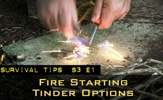 Easy Fire-Starters for Everyday Carry