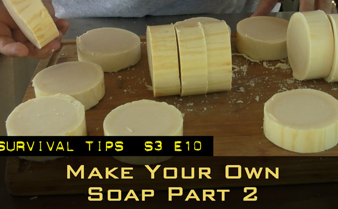 Make Your Own Soap Part 2 – The Process