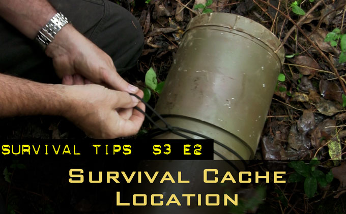 Basic Self-Reliance Series: How to Choose a Survival Cache Location