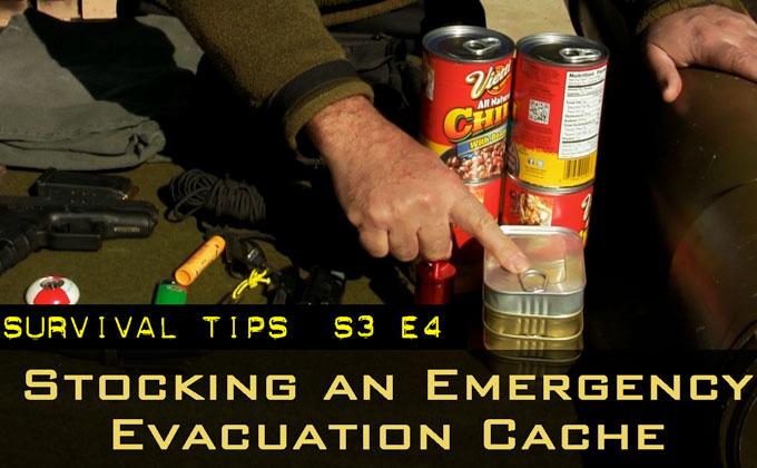 Stocking an Emergency Evacuation Cache