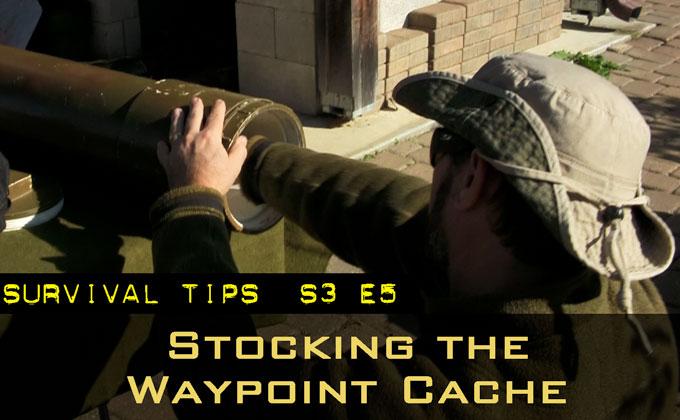 Stocking a Waypoint Cache