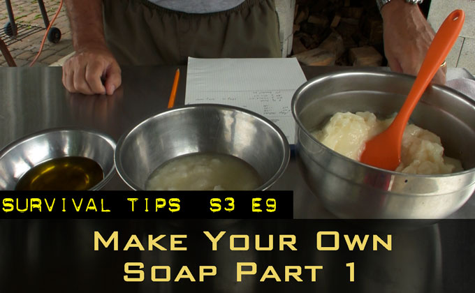 Make Your Own Soap Part 1