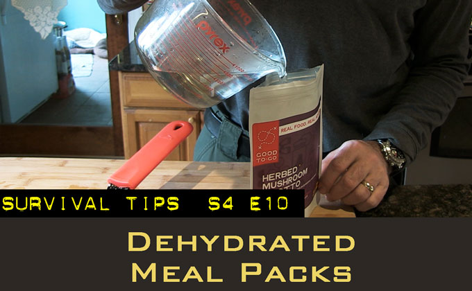 Dehydrated Meal Packs