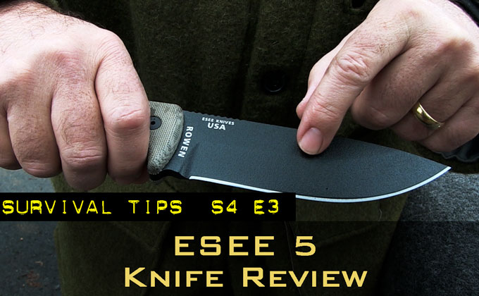 The ESEE 5 Survival Knife