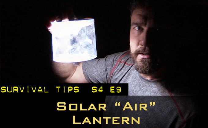 """Solar """"Air"""" Lantern"""