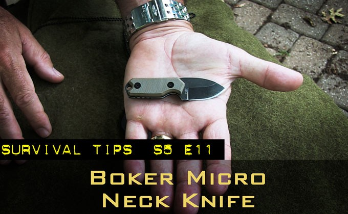 Boker Magnum Lil' Friend Micro Neck Knife