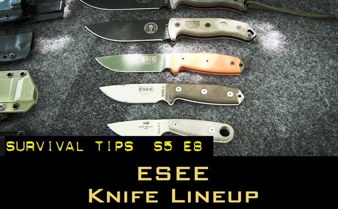 ESEE Knife Comparison