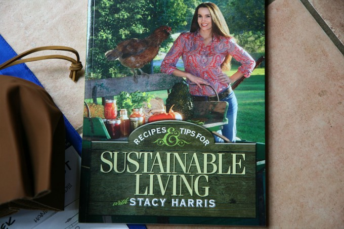 Sustainable Living cookbook. Very nicely photographed, and some scrumptious looking recipes.