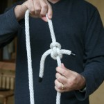 The final knot should look like this